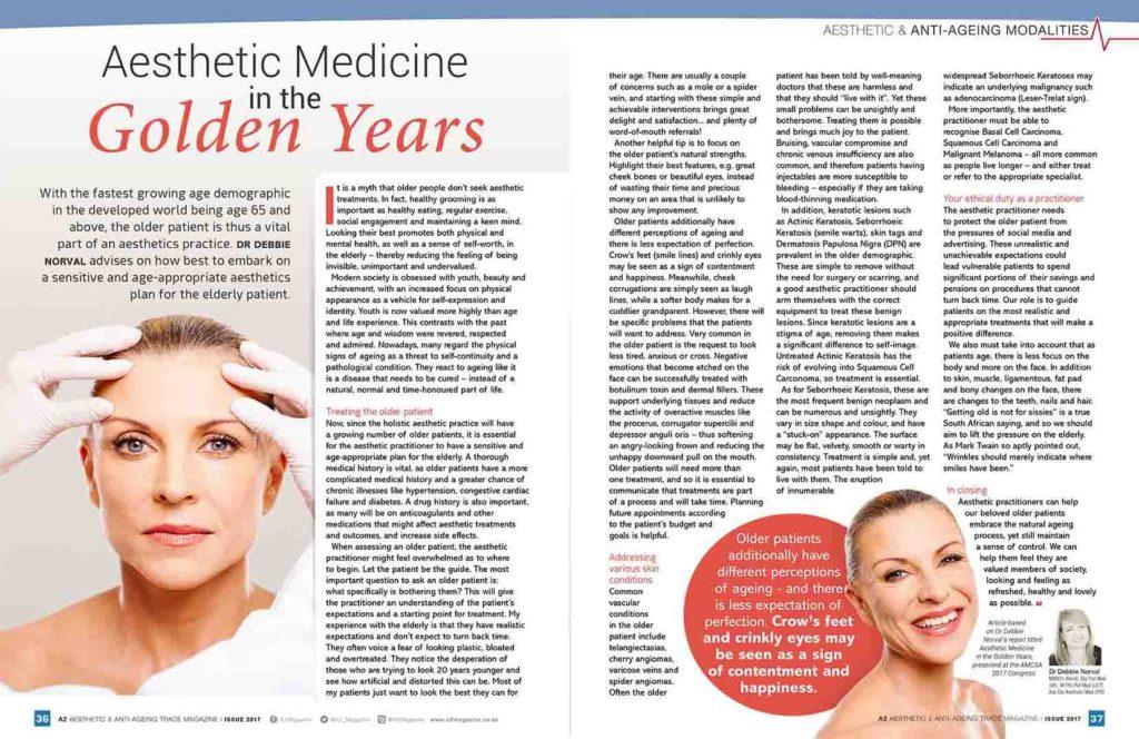 Aesthetic Medicine For Golden Years