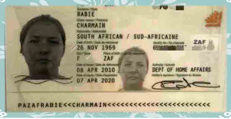 Charmaine's Driving Licence Photograph Taken In 2010